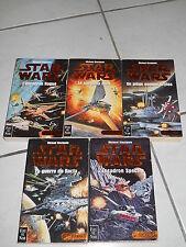 Rare à découvrir ! STAR WARS Les X-Wings STACKPOLE 5 volumes EO