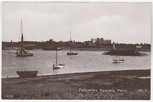FELIXSTOWE - Bawdsey Ferry - Suitall - Suffolk - c1900s era real photo postcard
