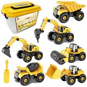 6 en 1 Démonter et Assembler Camion DIY Construction Véhicules Kit pour Enfant