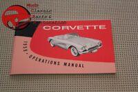 1959 59 Chevy Chevrolet Vette Corvette Owners Owner Manual's