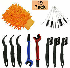 19X Cycling Bicycle Motorcycle Chain Brush Cleaning Tool Repair Kit Gear Grunge