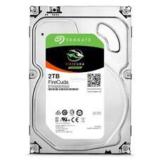 """Seagate 2TB ST2000DX002 3.5"""" SSHD FIRECUDA Drive SATA 6GB/s + 5 YR WARRANTY"""