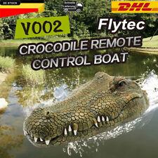 Flytec RC Boot 2.4GHz Ferngesteuertes Elektro Krokodilkopf Spielzeug Racing Boat
