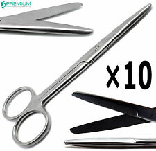 10 Pcs Surgical Operating Mayo Scissors Straight 55 Bluntblunt Instruments