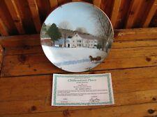 Chittendon'S Place Decorative Plate Danbury Mint