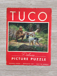 """Vintage Tuco DELUXE Picture Puzzle """"The Foundling """" 16""""x20"""".    #A80"""
