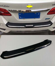 Rear Bumper Protector Cover Trim for 2016+ Nissan Sentra Sylphy Black Plastic