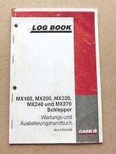 CASE IH MX 180 bis MX 270 Wartungs- und Auslieferungshandbuch ungebraucht