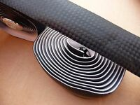 Foam Soft Cork Sports Road Bike Bicycle Handlebar Tape Black Endplugs 2x 2m Roll