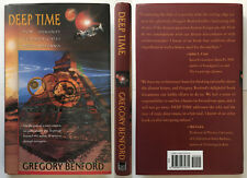 Deep Time Gregory Benford SIGNED First Edition Ancient History communication