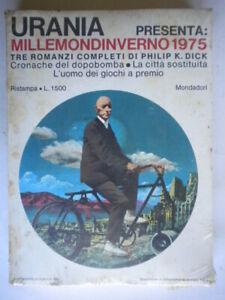 Millemondinverno 1975Dick Mondadoriuraniamille mondi inverno fantascienza 5d