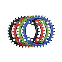RockBros MTB Road Bike 104BCD Round Disk 32T/34T/36T/38T Crankset 1pcs