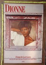 """Dionne Warwick,24""""x36"""" ,Poster,Rare Original Record company promo,Lost Loves"""