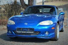 Gebrauchtwagen - Mazda MX-5 Cabrio Hardtop blau Bj. 2003 mit 110 PS, fahrbereit
