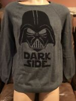 New Women's Star Wars Edition Darth Vader Licensed Gray sweater  Size Large