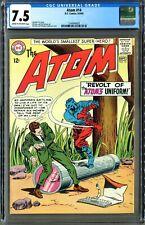 The Atom #14 (DC 8/64) CGC 7.5, Gil Kane Cover! Gardner Fox Story! Clean!