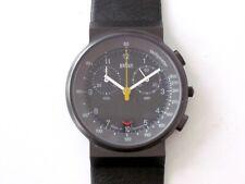 NOS 90s BRAUN Quartz Wrist Watch 3806 AW 60 T Lubs Germany Bauhaus 50 70 Rams S
