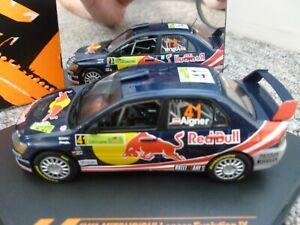 Vitesse 1/43 scale Mitsubishi Lancer Evolution IX 2008 Aigner PWRC Red Bull