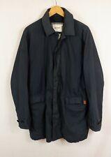 Ben Sherman algodón de estilo de conducción sobre Abrigo Chaqueta Grande Azul