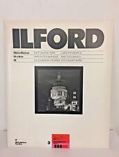 ILFORD ILFOSPEED RC DELUXE 30,5X40,6 IS3 1M BRILLANTE GRAD 3 - 10 FOGLI NUOVO