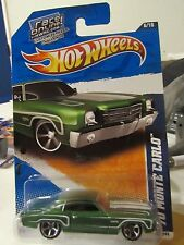 Hot Wheels '70 Monte Carlo Muscle Mania Green Race online card