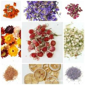 Real Dried Flower Dry Plant For Aromatherapy Candle Epoxy Resin Pendant De_cd