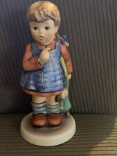 "Goebel W. Germany Hummel Figurine ""I Wonder� #486 Exclusive Edition 1990/91"