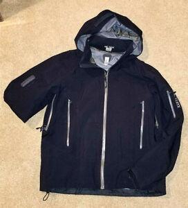 Arcteryx RARE Men's STINGRAY 5236 Shell Jacket Mens Med. Black Gore-Tex w/Recco