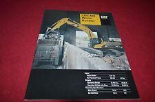 Caterpillar 330C MH Waste Handler Excavator Dealer's Brochure DCPA4