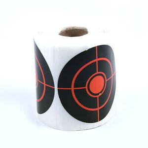 "New 250Pcs/Roll Diameter 7.5cm/2.95"" Shooting Practise Splatter Target Stickers"