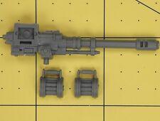 Warhammer 40K Astra Militarum Cadian arma pesada equipo Autocannon
