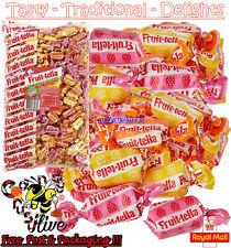 1 - 1000 FRUIT-TELLA Fruittella Juicy Chews Assorted Fruit-Véritable jus de fruits