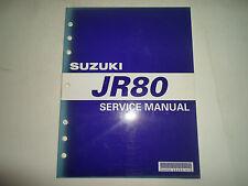 2001 Suzuki Jr80 Service Repair Shop Workshop Manual Factory Oem