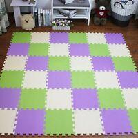 "EVA Foam Children""s Rug Interlocking Exercise Crawl Tiles Exercise Tiles Floor"