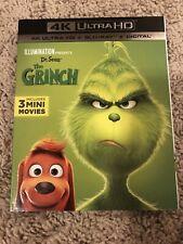 How the Grinch Stole Christmas (4K Uhd+Bluray+Digital) w/Slip Cover Free Ship