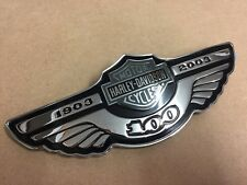 100th Anniversary Harley Davidson Sportster Fuel Tank Medallion Right 62245-03A