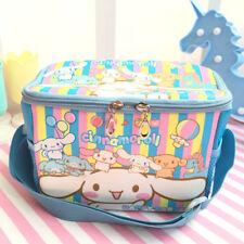 Cinnamoroll  dog keep warm square lunch bag handbag anime bags cute