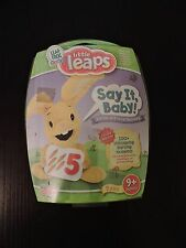 Little Leaps Say It Baby Verbal Vocal Toy Language Skills 9 Months LeapFrog New