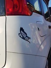 Butterfly Side Vinyl Car Wall Decal Sticker in 4 Colours