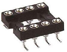 Preci-Dip 2.54 mm pitch Vertical 4 vías SMT convertido Pin abierto marco IC DIP Zócalo, 1