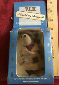 "Humphrey Beargart Humphrey Bogart 5"" mini NABCO VIP NIB never opened vintage"