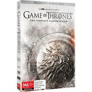 GAME OF THRONES : Season 8 Final : NEW 5-DVD