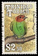 """TRINIDAD & TOBAGO 516 (SG794) - Bay-headed Tanager """"Tangara gyrola"""" (pf2101)"""