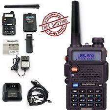 Radio Scanner Handheld Police Fire 2-Way Portable Transceiver Antenna Ems Ham