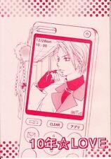 Final Fantasy 7 Vii Ff7 Ffvii Bl Doujinshi Dojinshi Comic Tseng x Rufus 10 Year