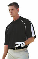 Willow Pointe Men's Moisture Wick Polyester Short Sleeve Golf Polo Shirt. 2850