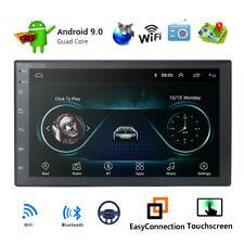 Android 9.0 double din Car Stereo Sat Nav GPS DAB+Bluetooth 4G DVB WiFi DVR 16GB