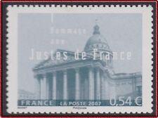 2007 FRANCE N°4000** Hommage aux Justes de France, France 2007 MNH