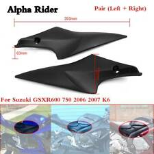 Black Tank Side Cover Panels Fairing For Suzuki GSXR 600 750 2006 2007 06 07 K6