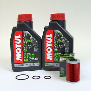 KTM Duke 125 und Duke 200 Service Kit Ölwechsel + Ölfilter Motul 10W-40